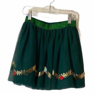 5/$20 Cat & Jack Green Tulle Christmas Skirt
